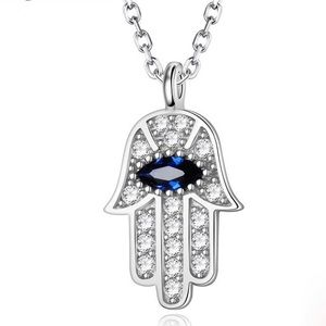 Blue Eye Real 925 Sterling Silver Zircon